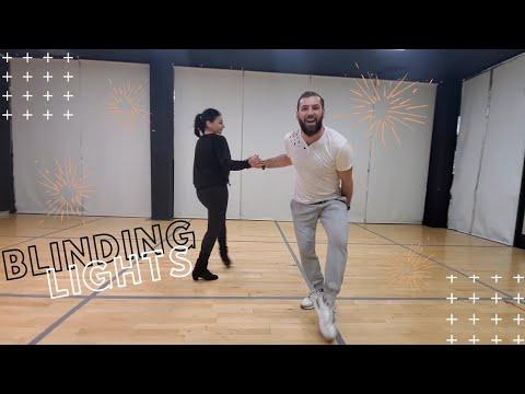 Blinding Lights - The Weeknd | Jive Dance cover by Armen Way & Ani Tsolokyan