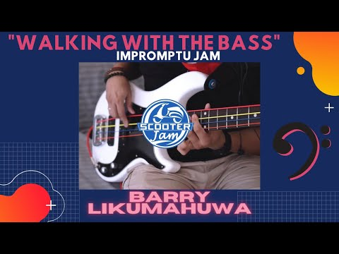 """""""Walking with The Bass"""" - Impromptu Jam // Barry Likumahuwa [in collaboration with SCOOTER JAM]"""