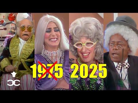 Cher, Elton, Bette Midler, Flip Wilson Imagine Themselves in the 2020s (1975) | From 'The Cher Show'