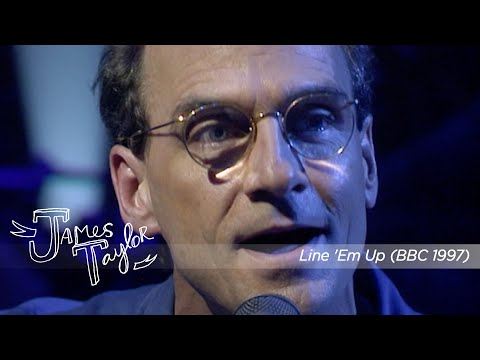 James Taylor - Line 'Em Up (Later With Jools Holland, 5/17/1997)