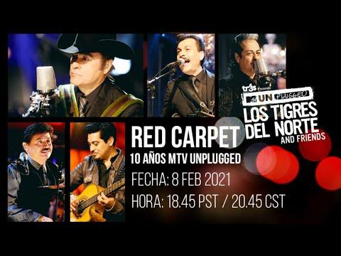 Los Tigres del Norte - Red Carpet 10 años MTV Unplugged