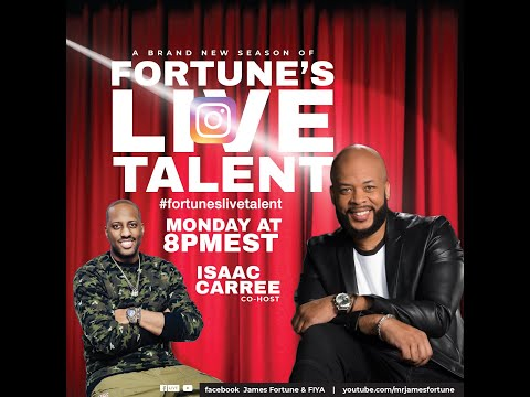 Fortune's Live Talent Hosted by James Fortune & Isaac Carree