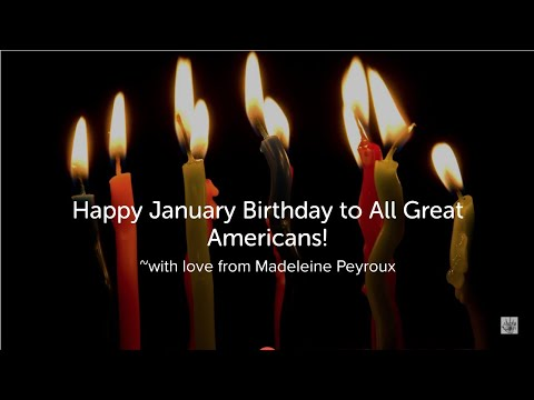 What Does it Mean to Be American? January 2021, music by Madeleine Peyroux
