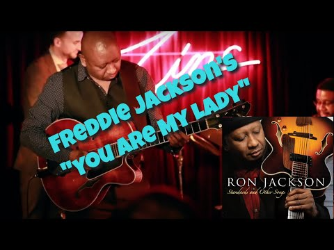 "Ron Jackson Playing Freddie Jackson's, ""You Are My Lady"""
