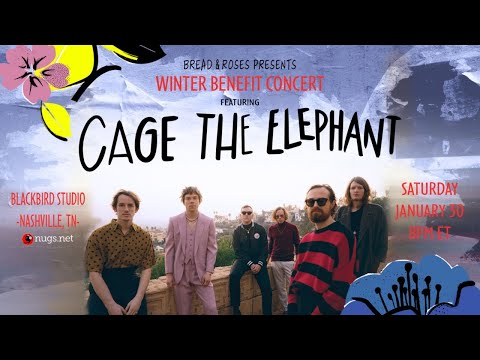 Cage The Elephant Benefit Show FREE First Song Preview