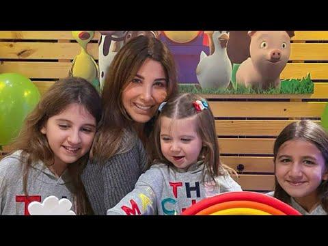 نانسي عجرم مع العيلة من عيد ميلاد ليا Nancy Ajram - Lya Birthday