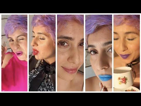 My favourite Lipsticks 💄 ( not the usual choices hehe) Neha Bhasin #shorts