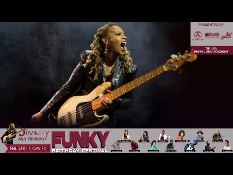 Divinity and Friends Funky Birthday Festival February 5th 4:45PM EST