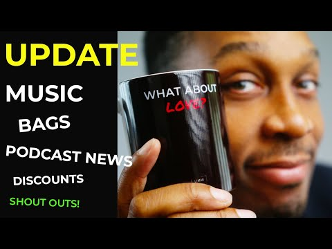 Lemar | UPDATE. Music, Bags, Discounts, Podcast News and Shout Outs.