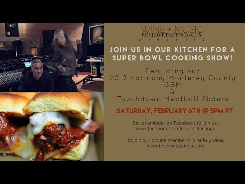 Join Us For A Superbowl Cooking Show!