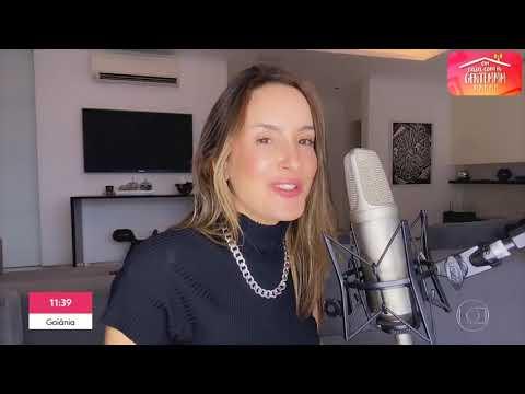 Claudia Leitte fala sobre a produção de clipes na quarentena