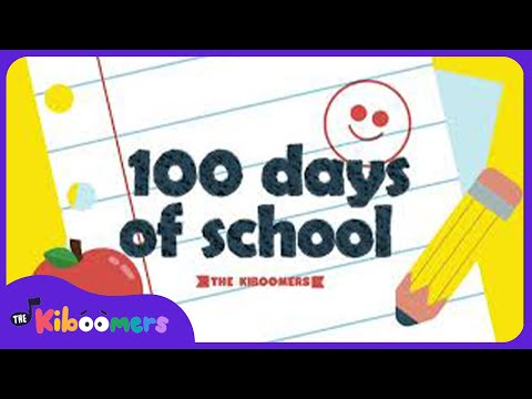 100 Days of School | The Kiboomers | Kids Songs | 100th Day of School Song | Kindergarten Songs
