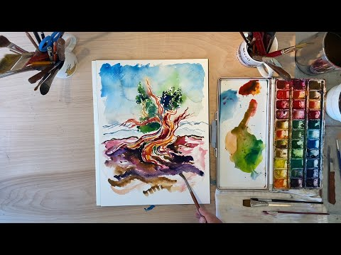 Paint and Play: Episode 10 - Bristlecone Pine