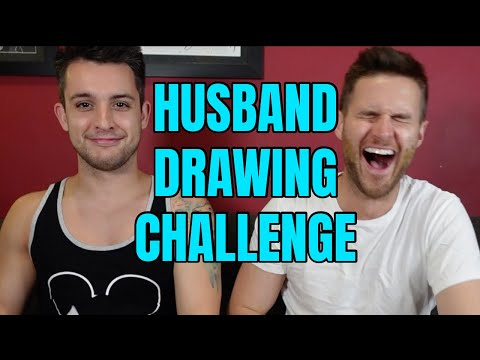 Drawing Each Other Challenge! Chris VS. Clay