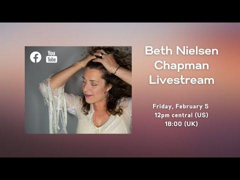 Livestream Event: SongRoom Studio Concert with Beth Nielsen Chapman