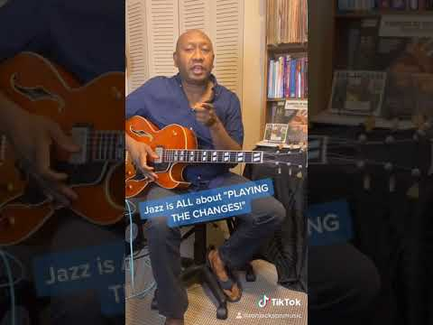 """Jazz Is All About """"Playing The Changes""""! #Shorts"""