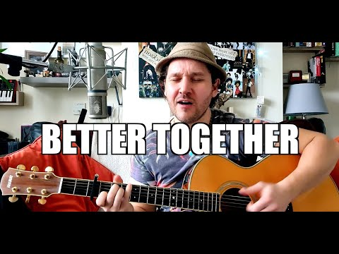 Jack Johnson - Better Together (Live Acoustic Cover)