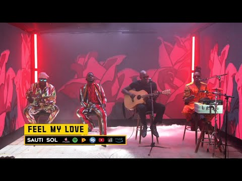 Sauti Sol - Feel My Love (Live Album Performance)