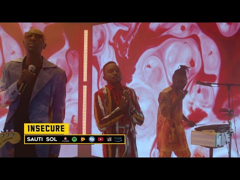 Sauti Sol - Insecure (Live Album Performance)