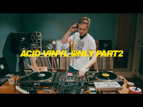Joris Voorn Vinyl DJ Mix | Classic Acid Pt.2 (Guilty Pleasures and More..)