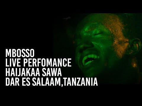 Mbosso live perfomance Haijakaa sawa Dar es salaam,Tanzania