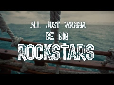Nickelback - Rockstar Sea Shanty Lyric Video with The Lottery Winners