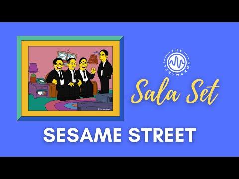 Sesame Street - The Itchyworms Sala Set | Live At Big Baby Studios