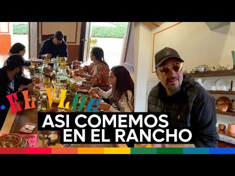 Pepe Aguilar - El Vlog 261 - Así Comemos en el Rancho