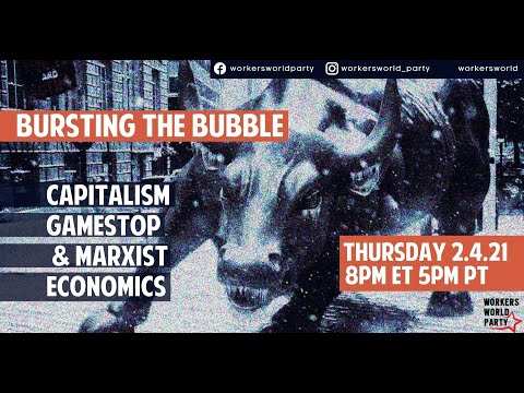 Bursting the Bubble: Capitalism, GameStop, and Marxist Economics