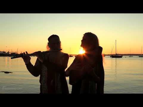 Dean & Dudley Evenson Play Live Music at Beautiful Sunset in Bellingham, WA