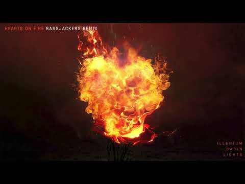 ILLENIUM- Hearts on Fire (Bassjackers Remix- Official Audio)