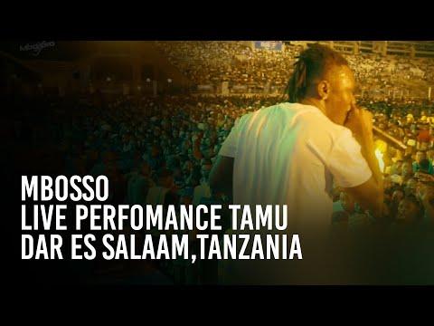 Mbosso live perfomance Tamu Dar es salaam,Tanzania