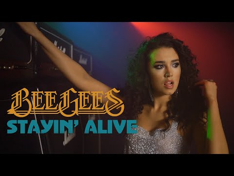 Bee Gees - Stayin' Alive (ROCK COVER) by Sershen&Zaritskaya