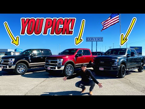 YOU decide which new truck!