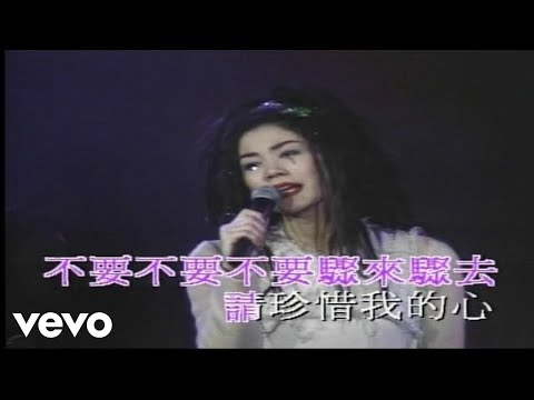 Faye Wong - 王菲 -《容易受傷的女人》(1994 Live)