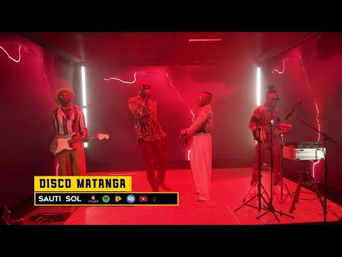 Sauti Sol - Disco Matanga (Live Album Performance)