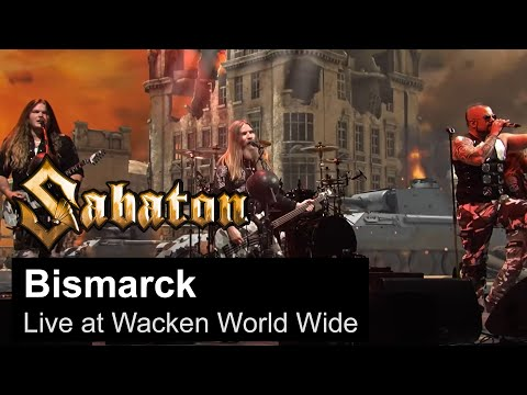 SABATON - Bismarck (Live at Wacken World Wide)