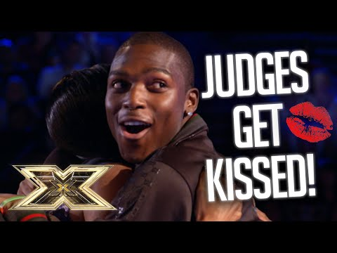 WHEN JUDGES GET KISSED!!! | The X Factor UK