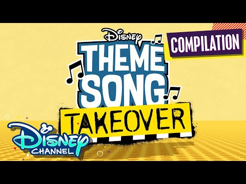 Every Theme Song Takeover! 🎶 | Compilation | Disney Channel Animation