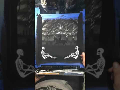 "Lamb of God x MCMONSTER ""Resurrection Man"" Print"