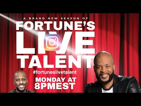 Join us LIVE for Fortune's Live Talent hosted by James Fortune & Isaac Carree