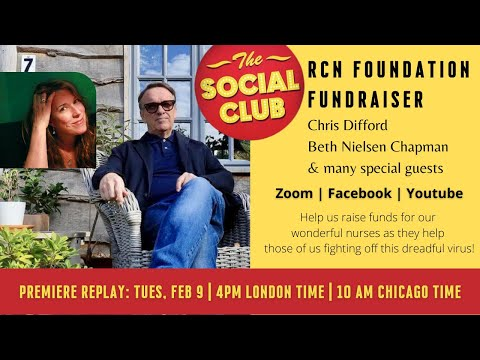 Premiere: RCN Foundation Fundraiser with Chris Difford, Beth Nielsen Chapman & many special guests
