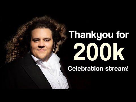 200k Celebration Stream