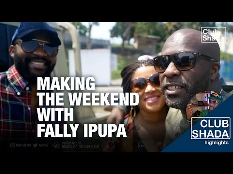 "Recording and shooting ""The Weekend"" with Fally Ipupa 