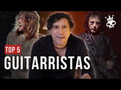TOP 5   YVES PASSARELL ELEGE OS MELHORES GUITARRISTAS GRINGOS