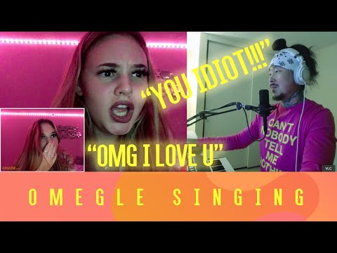 SHE WAS SO MEAN... but then I started singing | Omegle Singing Reactions | Ep. 19