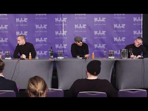 """K.I.Z - """"Rap über Hass"""" - Öffentliche Pressekonferenz"""