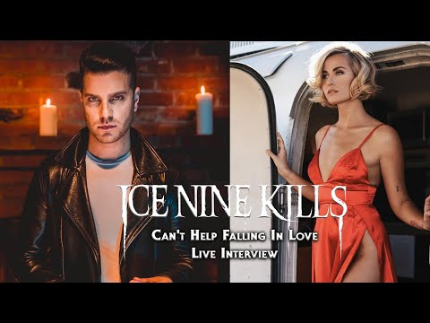 Ice Nine Kills - Can't Help Falling In Love (Interview with Spencer Charnas & Scout Taylor Compton)