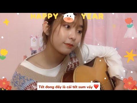 (Mashup) TẾT ĐONG ĐẦY,  LÀM GÌ PHẢI HỐT / Trang Phạm cover guitar