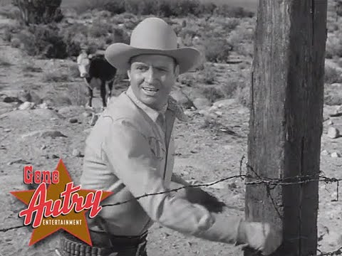 Gene Autry - When the Bloom Is on the Sage (The Gene Autry Show S1E6 - The Double Switch 1950)